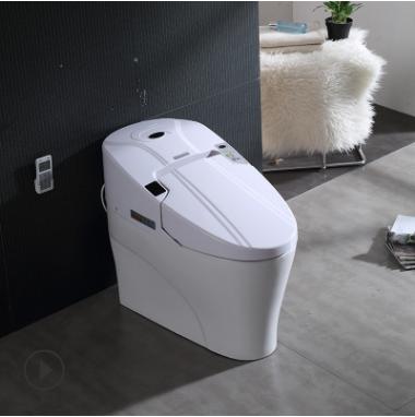 厂家直销智能马桶一体式座便器 家用缓降静音自动加热自动清马桶