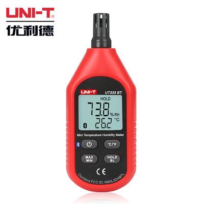 优利德迷你温湿度计 数字数显温湿度表 手持温湿度检测仪UT333BT