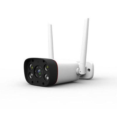 无线摄像头监控器 手机远程智能枪机 网络摄像机双光源日夜全彩