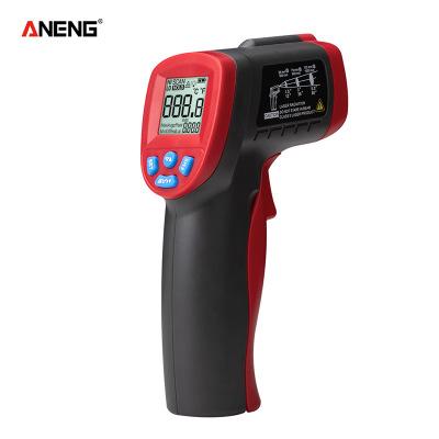 ANENG 手持便携非接触式红外测温仪 高精度测温计 工业测温枪厂家