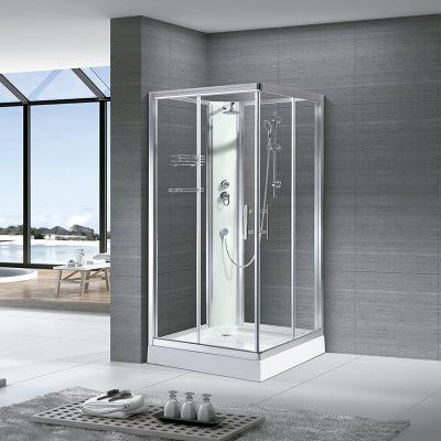 铝合金淋浴房带花洒套装封闭式防水浴室防滑式亚克力底盆出口工程