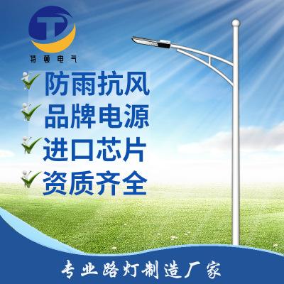 LED路灯道路照明灯户外灯进口芯片5米6米7米8米10米美丽乡村
