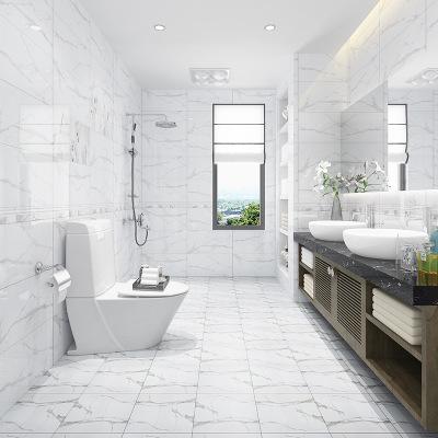 灰色厨房卫生间瓷砖300x600阳台墙面砖瓷片防滑耐磨小地砖300x300
