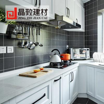 佛山批发北欧小白砖300x600白色亮光哑光厨卫面包格子砖地铁砖
