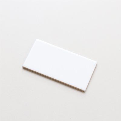 厨房瓷砖75*150mm北欧白色面包砖陶瓷格子墙砖 卫生间瓷砖瓷片