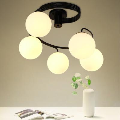美式吸顶灯创意温馨浪漫北欧客厅卧室灯具简约现代田园艺术儿童灯