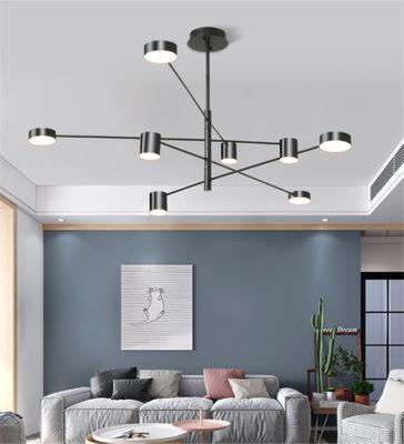 2019新款客厅灯具北欧后现代简约设计师造型灯饰极简卧室餐厅吊灯