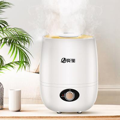 沃牧加湿器家用办公室卧室大容量空调空气净化小型迷你香薰机