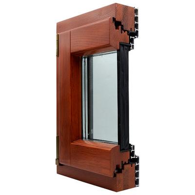 L-86铝包木门窗 隔音窗 别墅门窗 节能门窗 乐尼门窗