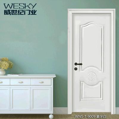 厂家直批高档钢木强化卧室门 室内门生态木门房间门木塑门