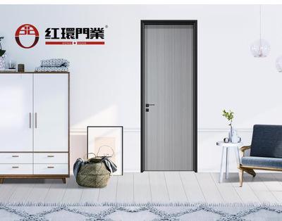 厂家特价直批高档环保静音卧室门 轻奢极简房间门室内生态铝木门