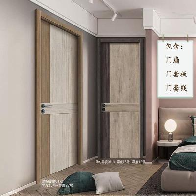 厂家直销 零度模压隔音室内平开门 生态夹板卧室门 免漆门