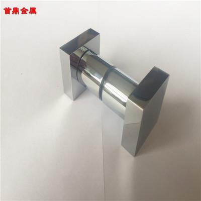 支持来样定制 304不锈钢方形拉手 拧手 淋浴房玻璃门拉手 铜拧手