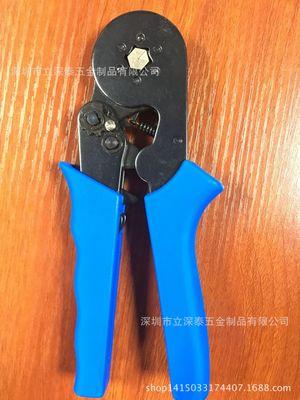 HSC8 6-6 六边形压线钳 套管式专用钳 0.5-6mm2 管形冷压端子钳