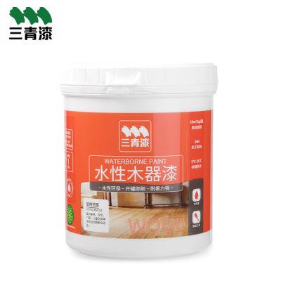 水性漆环保木器漆0.5L 透明家具涂料防水DIY 家具修补膏木器漆