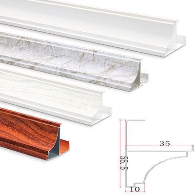 集成吊顶配套木纹修边角 铝边线 铝扣板配件铝质收边条 厂家直销