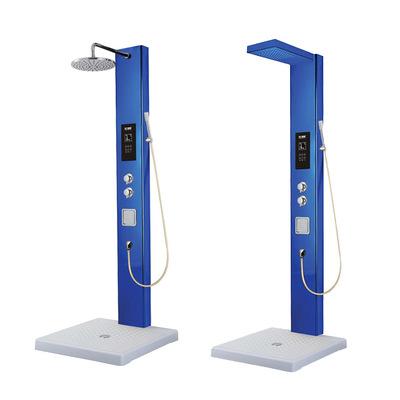 XR-A智能恒温电热水器 集成淋浴屏 304不锈钢集成淋浴柱花洒
