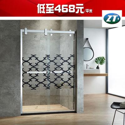 专业厂家批发 不锈钢淋浴房 隔断 沐浴屏风隔断 招太卫浴 DK-8106