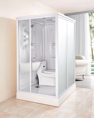 整体淋浴房一体式整体卫生间玻璃隔断浴室整体卫浴洗澡间钢化玻璃