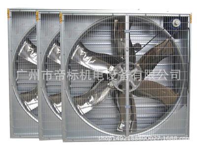 广州厂家直销 镀锌板轴流负压风机排风设备 大功率散热负压风机