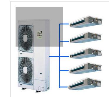日立 家用中央空调直流变频多联机 5.6匹一拖五RAS-140FSVN2Q日立