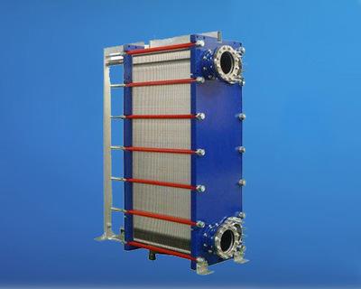 板式热交换器机油冷却热交换器 半焊式板式换热器