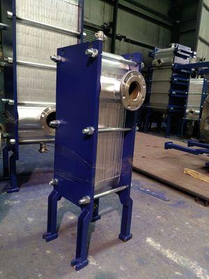 全焊接板式换热器厂家蒸汽热交换器可拆式板式换热器不锈钢冷却器