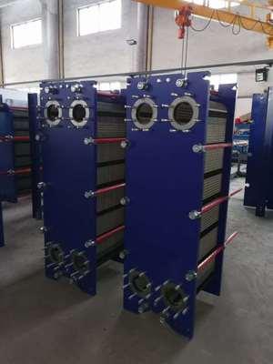 供应水汽换热水水换油水换热可拆150口径板式换热器
