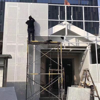 雨棚铝单板 镂空冲孔铝单板 造型铝板装饰材料