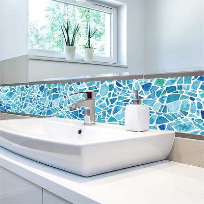 cz008 巴洛克风格瓷砖贴 复古壁纸墙贴画 家居客厅卧室厨房装饰贴