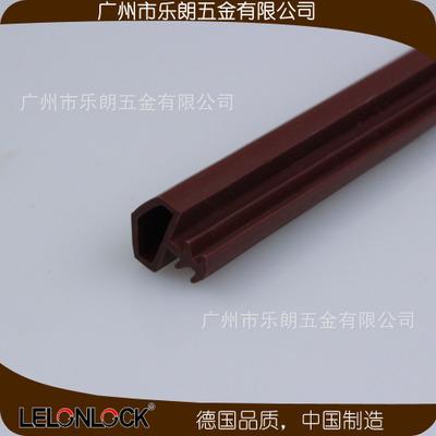 厂家直供9mm室内门木门卡槽防撞条 门缝密封条 门窗隔音条PVC胶条