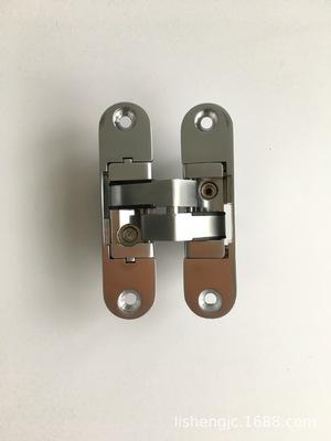 双弹簧合页 闭门合页 带自动关门 隐形门适用闭门器 隐形铰链