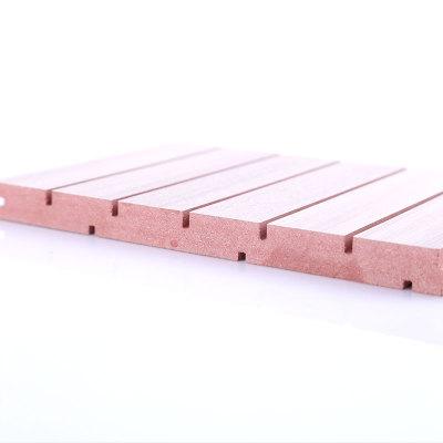 厂家直销红芯阻燃隔音板 KTV吸音板 防火等级B1级 木质吸音板