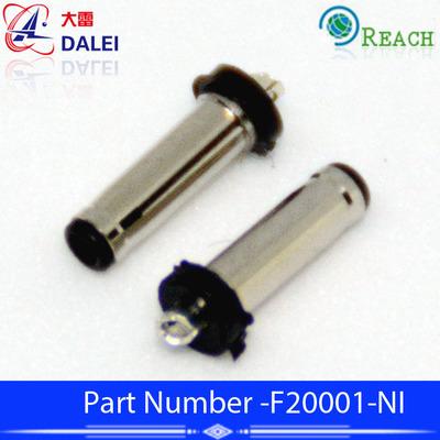 2006音叉9毫米长弹性式2.0*0.6DC公头镀镍运动耳机小型插头