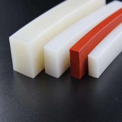 硅胶密封条 耐高温硅胶条 彩色硅胶密实条 矩形方形实心硅胶条