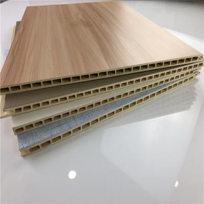 竹木纤维集成墙板全屋整装天花吊顶集成墙面快装墙板护墙板