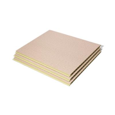 明居乐厂家供应竹木纤维板双筋三代集成墙板300宽 快装墙板批发