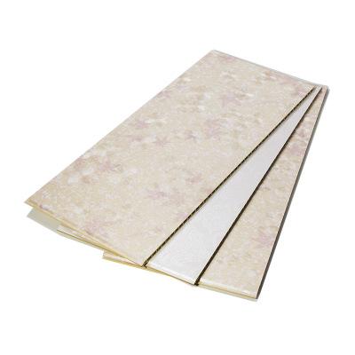 明居乐厂家直销竹木纤维集成墙板 600宽快装护墙板内墙装饰板批发