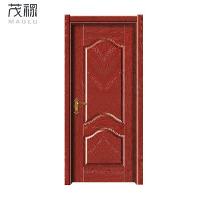 厂家直销欧式室内实木门 房间隔音实木复合门 强化生态门定制