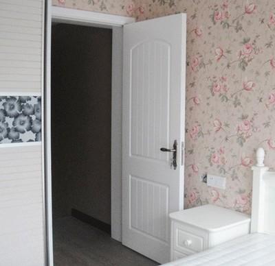梦馨木门室内门定做卡通幼儿园门 房间门 卧室门 现代简约白色门
