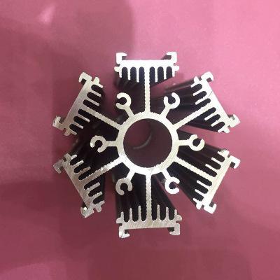 厂家直销 优质铝散热片LED散热器 3密齿功放散热板可定制