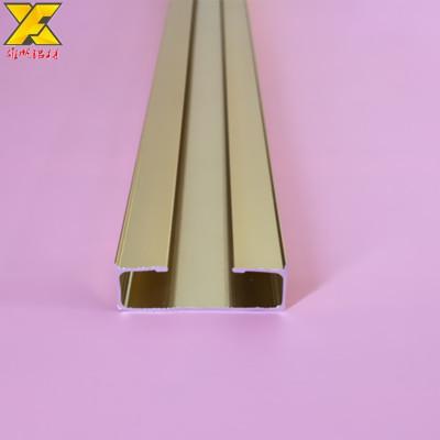 专业挤压U型铝槽背景墙装饰铝条免打孔安装方便表面拉丝着色氧化