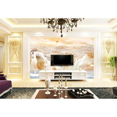 欧雅阁厂家直销佛山瓷砖背景墙电视客厅画精雕3D 花韵 两百八十一