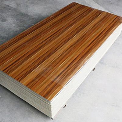厂家供应集成快装高光仿大理石UV板 背景墙木纹KTV客厅微晶墙面板