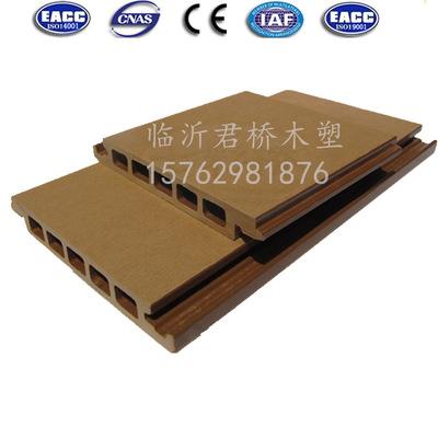 临沂君桥162*22.2实心墙板 户外墙板 护墙板 别墅外墙板 木塑墙板
