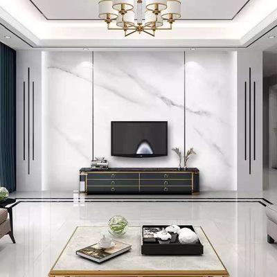 现代简约电视背景墙瓷砖客厅影视墙高温微晶石瓷砖电视墙定制批发