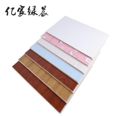 仿大理石集成墙面竹纤维零胶600V缝板集成墙板厂家