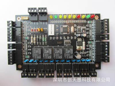 485-4门控制器门禁机控制板WG门禁