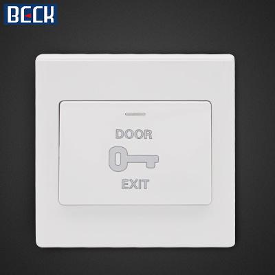 BECK博克瑞盾品牌门禁出门按钮 出门开关 门禁开关BAN5