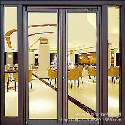 肯德基门厂家 供应肯德基门 铝型材门 平开门定做 颜色多样
